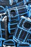 Réseaux de langoustine Image stock