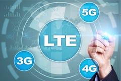 Réseaux de LTE concept mobile de l'Internet 5G et de la technologie Photographie stock