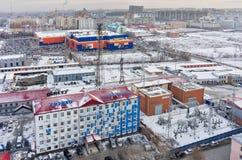 Réseaux distributifs et compagnie d'énergie de Tyumen Photos libres de droits