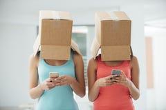 Réseaux et manque sociaux de commmunication photographie stock