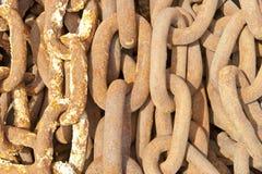 Réseaux rouillés Image stock
