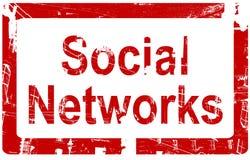 Réseaux sociaux Photos libres de droits