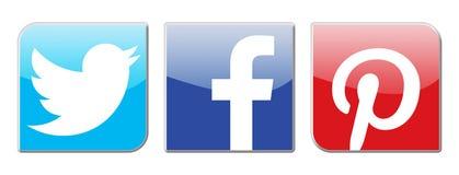 Réseaux sociaux illustration stock