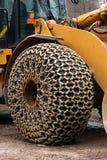 Réseaux sur des pneus Image libre de droits