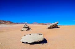 Réservation d'Eduardo Avaroa Andean Fauna National, Bolivie Photographie stock libre de droits