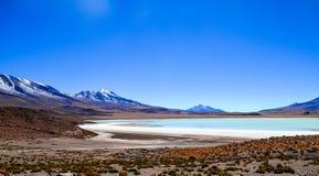 Réservation d'Eduardo Avaroa Andean Fauna National, Bolivie Photos stock