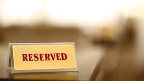 Réservation de contrôle de restaurant Images stock