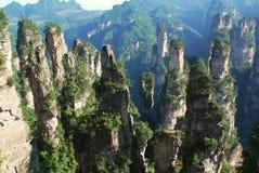 Réservation de Zhangjiajie photographie stock