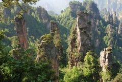 Réservation de Zhangjiajie photographie stock libre de droits