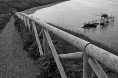 Réservation naturelle de Punta Aderci photographie stock libre de droits