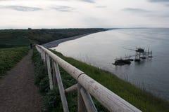 Réservation naturelle de Punta Aderci photos libres de droits
