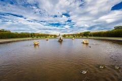Réservation Peterhof de musée Photo stock