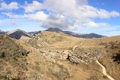 Réservation scénique de courant de caverne, Nouvelle-Zélande Image stock