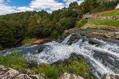 Réservation scénique entourant la rivière de Hatea dans la nouvelle ardeur de Whangerei photo libre de droits