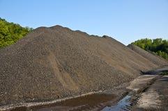 Réserve de charbon Photo stock