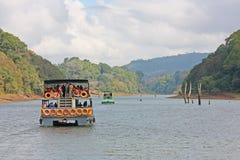 Réserve de lac Periyar Photos stock