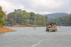 Réserve de lac Periyar photo stock