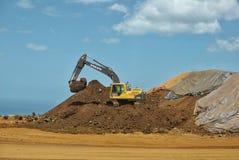 Réserve de minerai de nickel Image stock