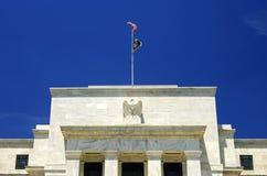 réserve fédérale Washington du bâtiment c d de panneau Image stock