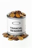 Réserve financière Image stock