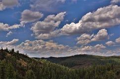 Réserve forestière de Tonto, ministère de l'agriculture de l'Arizona, Etats-Unis Photo stock