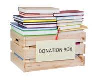 Réserve la boîte de donations Images libres de droits