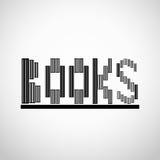 Réserve le concept de logo Images stock
