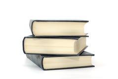 réserve les pages d'isolement flavescentes blanches Photographie stock libre de droits