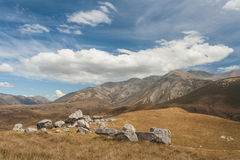 Réserve naturelle de colline de château Image libre de droits