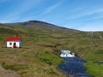 Réserve naturelle de Hornstrandir, Islande Image stock