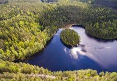 Réserve naturelle de Nuuksio Photographie stock