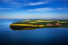 Réserve naturelle Lanken en mer baltique Photo libre de droits