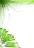réservez le type vert de croquis d'illustration illustration de vecteur