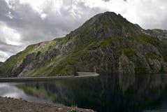 Réservoir, Aneto, Espagne Photographie stock libre de droits