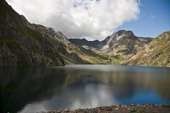 Réservoir, Aneto, Espagne Photos libres de droits