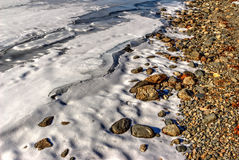 Réservoir congelé Images stock