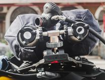 Réservoir d'air pour haut étroit de masques protecteurs photo libre de droits