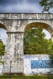 Réservoir d'eau d'Amoreiras Images stock