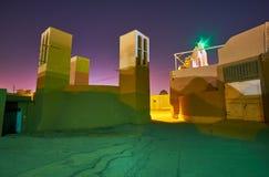 Réservoir d'eau dans vieux Yazd Photos libres de droits