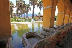 Réservoir d'eau des syndicats de La à l'Antigua, Guatemala Image libre de droits