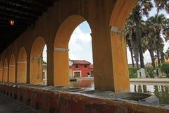 Réservoir d'eau des syndicats de La à l'Antigua, Guatemala Photo libre de droits