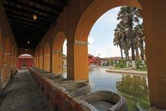 Réservoir d'eau des syndicats de La à l'Antigua, Guatemala Photos libres de droits