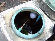 réservoir d'eau souterraine Photo stock