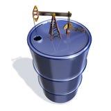 Réservoir d'huile Photographie stock