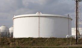 Réservoir d'huile Photographie stock libre de droits