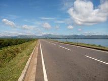 Réservoir d'Udawalawa Photographie stock