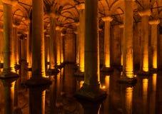 Réservoir de basilique Photographie stock libre de droits