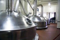 Réservoir de bière Photos stock