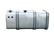 Réservoir de carburant de camion Photographie stock