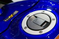 Réservoir de carburant de moto Images libres de droits